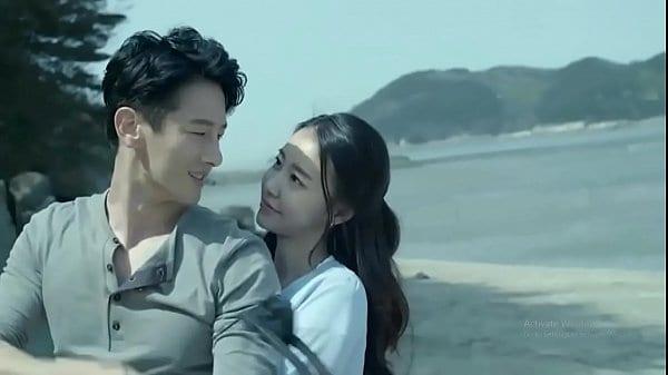 หนังอาร์เกาหลี หนุ่มเกาหลีเกิดเงี่ยนเลยชวนแฟนเย้ด outdoor บนชายหาด